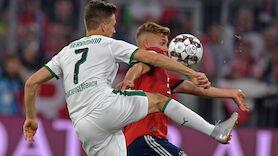 LIVE: Gipfeltreffen Gladbach gegen Bayern