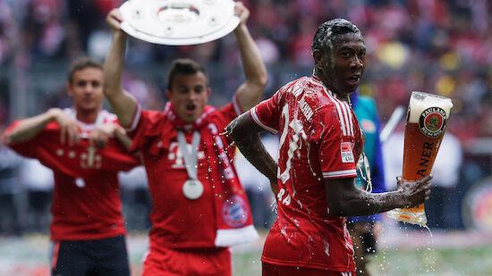 Serientäter! Bayerns eindrucksvoller Titel-Lauf
