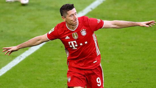 Rekordjagd auf Müller! Alle für Robert Lewandowski