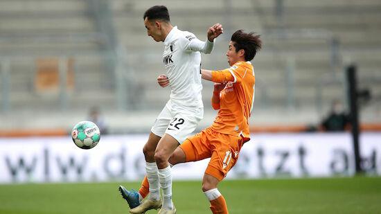 Augsburg enttäuscht gegen Bielefeld