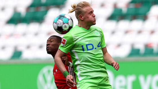 Bayern gewinnt Schlagabtausch gegen Wolfsburg