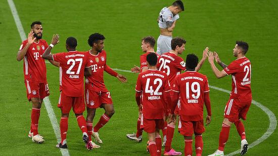 Bayern stehen nach Heimsieg kurz vor Meistertitel