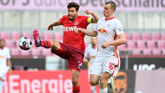 RB Leipzig stolpert im Titelkampf über Köln