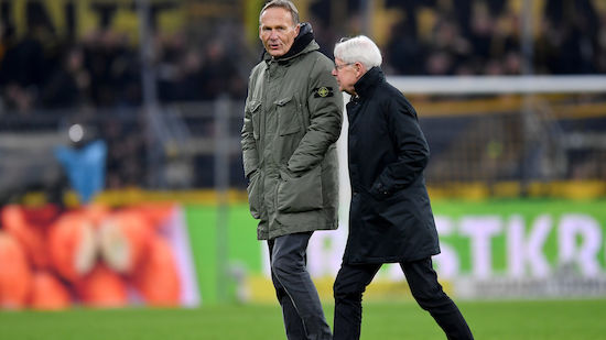 BVB-Präsident: Favre-Aus?