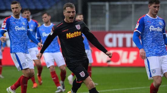Jahn Regensburg schießt Holstein Kiel ab