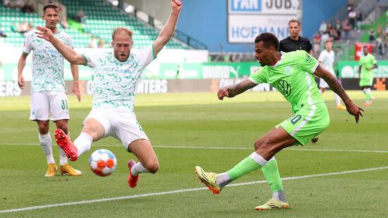 Tabellenführer Wolfsburg weiter makellos