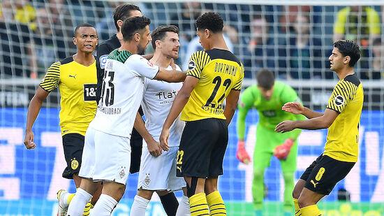 Gladbach besiegt Dortmund bei Rose-Rückkehr