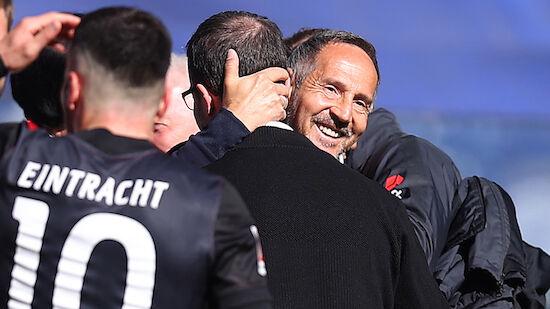 Adi Hütter ist Trainer der Saison in Deutschland