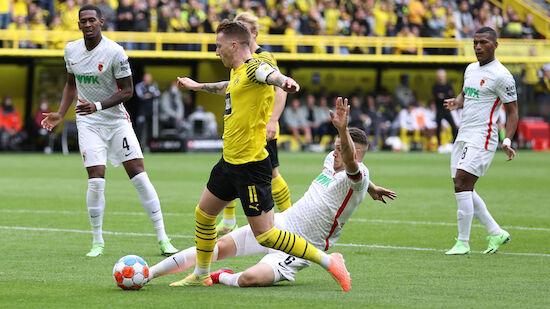 Dortmund feiert Pflichtsieg gegen Augsburg