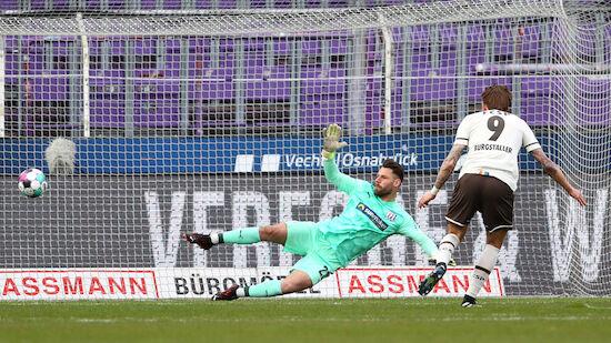 Burgstaller mit neuntem Saisontor für St. Pauli