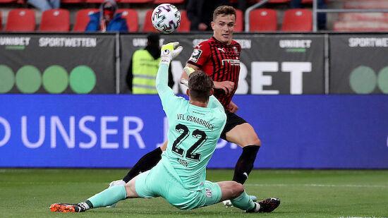 Ingolstadt gegen Osnabrück vor 2. Liga-Aufstieg