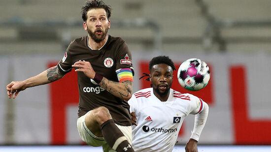 Später Sieg für St. Pauli im Hamburger Derby