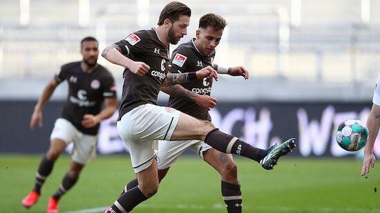 Burgstaller-Doppelpack sichert St. Pauli Sieg