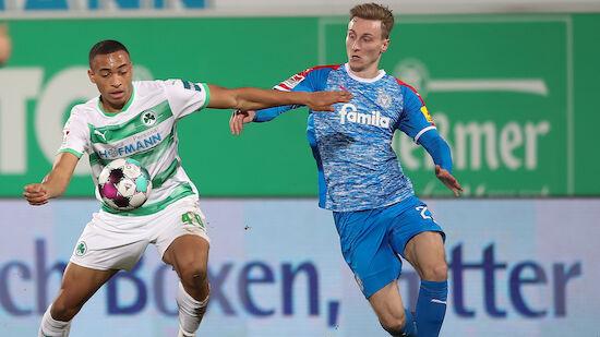 Greuther Fürth nach Heimsieg erster HSV-Verfolger
