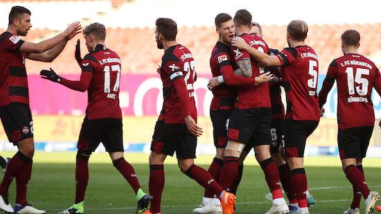 Nürnberg schießt sich ins Tabellen-Mittelfeld