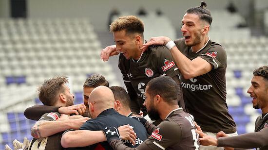 St. Pauli setzt Erfolgslauf mit Auswärtssieg fort