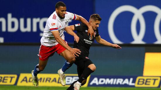 HSV-Kantersieg bei Hrubesch-Debüt gegen Nürnberg