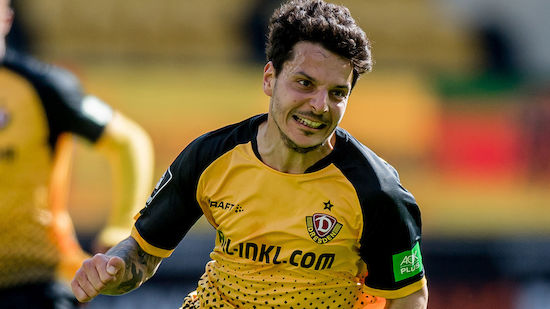 Hosiner steht kurz vor Aufstieg in 2. Bundesliga