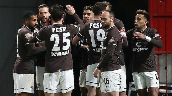 Burgstaller-Assist bei Sieg von St. Pauli