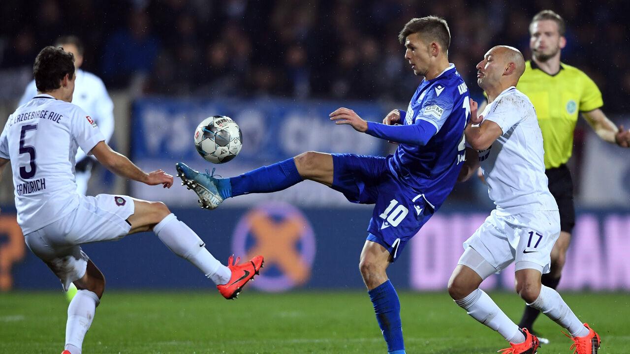 Relegation Karlsruhe Aue