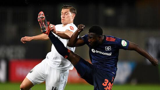Hamburger SV verliert in Sandhausen