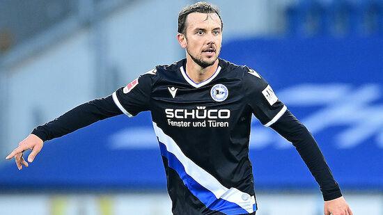 Manuel Prietl verlängert bei Arminia Bielefeld