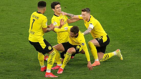 Dortmund mit Schützenfest ins DFB-Pokal-Finale