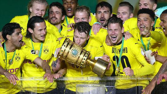 Dortmund gewinnt den DFB-Pokal gegen RB Leipzig!