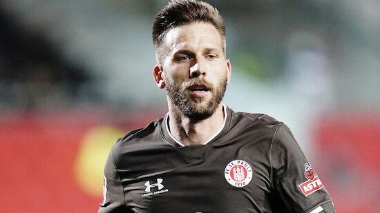 Burgstaller schießt St. Pauli in die zweite Runde