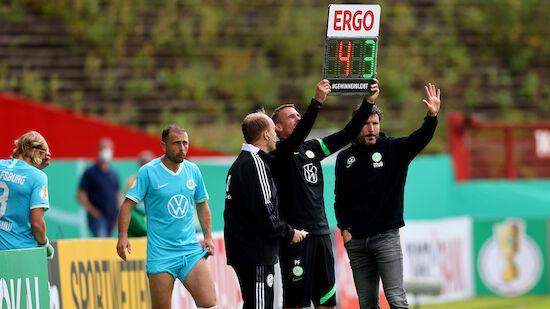 Ausschluss im DFB-Pokal: Wolfsburg beruft