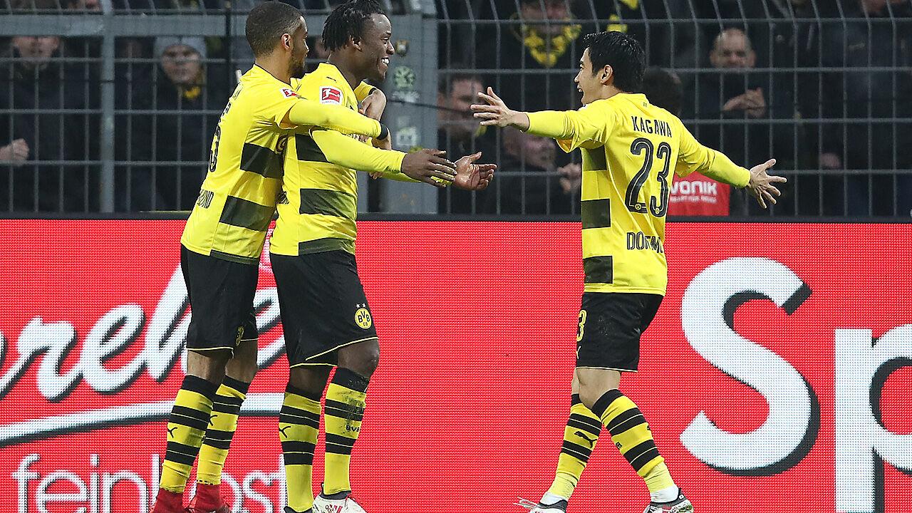 Hamburg Dortmund Fußball