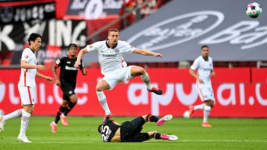 Eintracht Frankfurt unterliegt in Leverkusen
