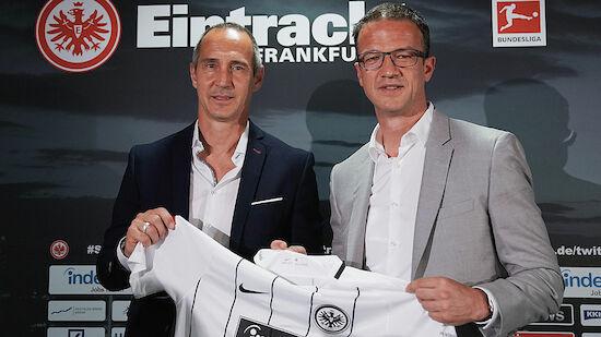 Frankfurt: Bobic erwartet Verlängerung mit Hütter