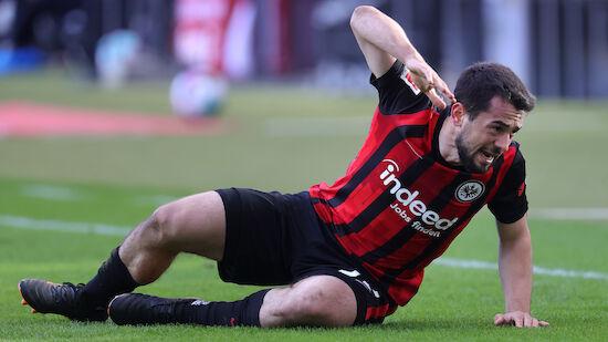 Eintracht-Problemspieler Younes vor Abgang