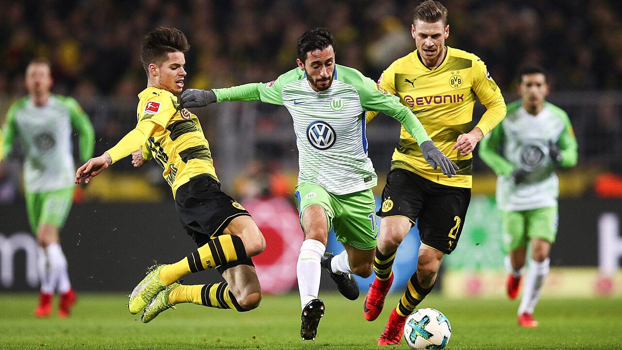 Fußball Dortmund Wolfsburg