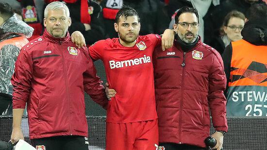 Drei Monate Pause für Leverkusen-Stürmer Volland