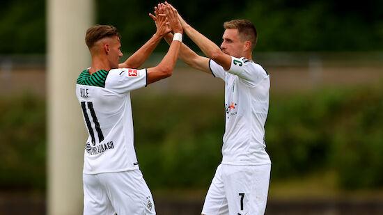 Hannes Wolf trifft bei Testspiel-Sieg gegen Bayern