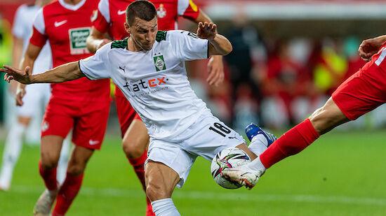 DFB-Pokal: Erfolgreiches Hütter-Debüt bei Gladbach