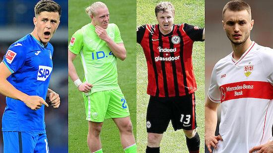 Bundesliga: Erwartungshaltung an die ÖFB-Legionäre