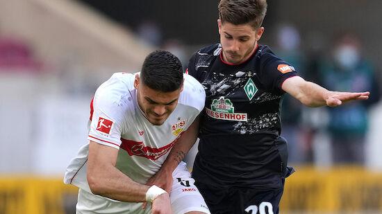 Eigentor bringt Stuttgart Sieg gegen Bremen