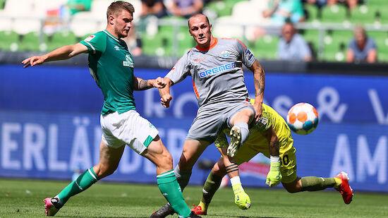 Werder Bremen gegen Paderborn völlig von der Rolle
