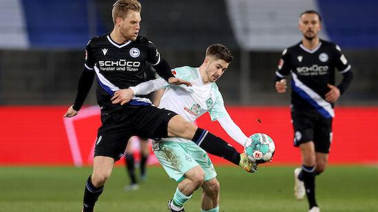 Werder holt wichtige Punkte im Nachtragsspiel