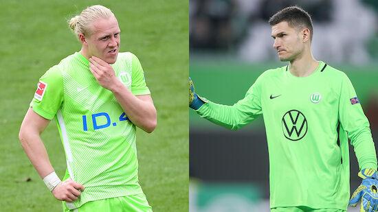 Schlager & Pervan im Wolfsburg-Mannschaftsrat