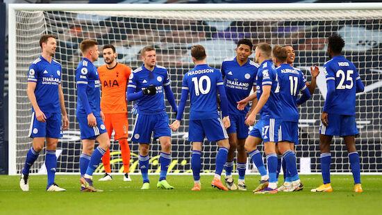 Leicester überflügelt Tottenham