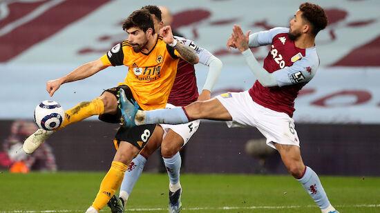 Aston Villa verliert EC-Plätze aus den Augen