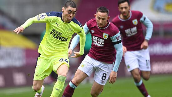 Newcastle dreht Spiel in Burnley