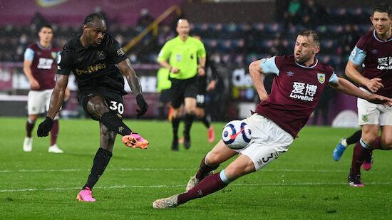 Antonio rettet West Ham gegen Burnley