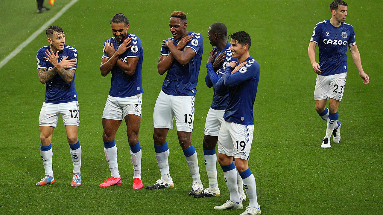 Everton Tabelle