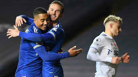 Leicester bleibt an Liverpool dran