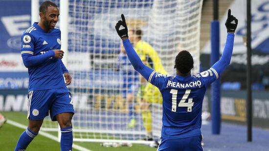 Iheanacho-Gala für Leicester gegen Sheffield
